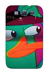 BNzlaLf2064PFMoo Treponemaor Painting Awesome Case Cover Compatible With Galaxy S3 - Perry Phinea And Ferb