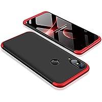 Huawei P20 Lite Uyumlu Kılıf GKK 360 Derece Koruma Sert 3in1 (XCT657Y)