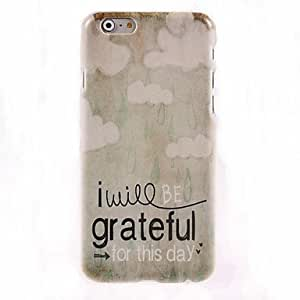 PEACH Grateful for This Day Design Hard Case for iPhone 6 Plus