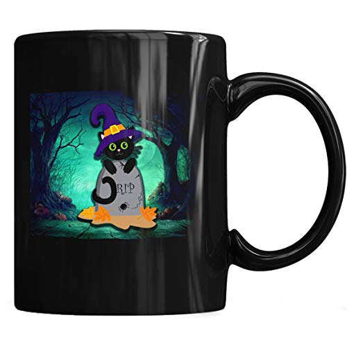Cat Halloweenrts Halloween Costumes & Outfit Ideas Cat Halloween Hat Awesome Gift - Cat Halloween - Mug Coffee Mug 11oz & 15oz Gift Tea Cups -