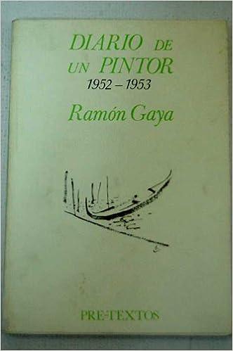 Descargar kindle books free uk Diario de un pintor: 1952-1953 (Hispánicas) ePub