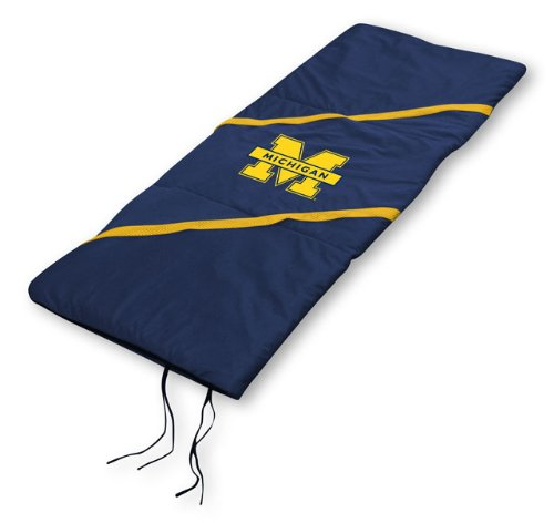 NCAA Michigan Wolverines MVP Sleeping Bag, Outdoor Stuffs