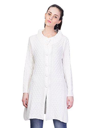 Montrex Women's Solid Long Coat
