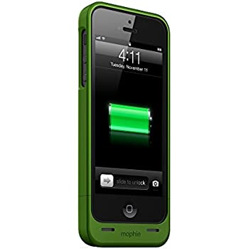 new products d2fe6 06d0c mophie juice pack Helium for iPhone 5/5s/5se (1,500mAh) - Green -  JPH-IP5-GRN