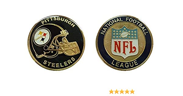 8fb539d5 Steelers Collectible Challenge Coin- Logo Poker - Lucky Chip
