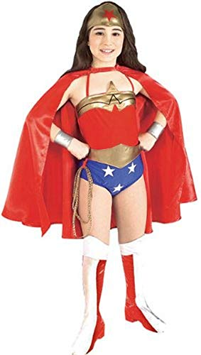 Rubies DC Super Heroes Collection Deluxe Wonder Woman Costume, Medium]()