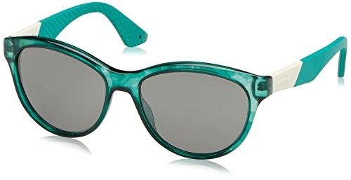 Carrera - Lunette de soleil  5011/S Ronde  - Femme Noir (Spotted Green)