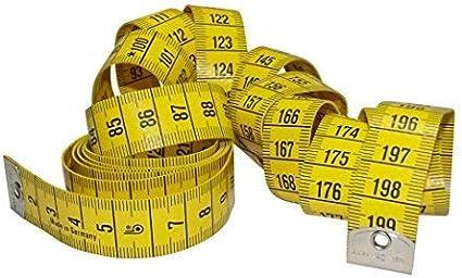 DIE NÄHZWERGE HOECHSTMASS profi: extralanges Maßband/Metermass - bis 200cm Länge   Bandmaß messen nähen Schneiderei - deutsches Markenprodukt mit Präzisionsskala - made in Germany