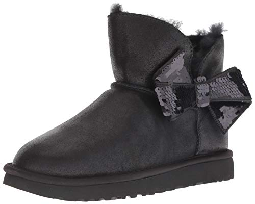 UGG Women's W Mini Sequin Bow Fashion Boot, Black, for sale  Delivered anywhere in USA