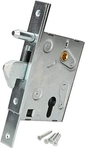 KOTARBAU - Cerradura de gancho para puerta corredera F-60 – Cerradura para puerta corredera con gancho galvanizado resistente a la corrosión: Amazon.es: Bricolaje y herramientas