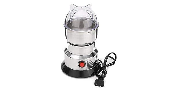 Hierbas/especias/nueces eléctricas/molinillo de café molino de granos de café con cuchillas de acero inoxidable máquina de molienda doméstica: Amazon.es: Hogar