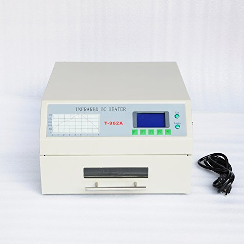 (Wotefusi Industrial New 110V 1500W Mini Infared IC Heater Reflow Oven Soldering Machine Device)