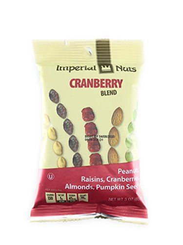 Imperial Mix - 3 Pack - Cranberry Blend Mix Imperial Nuts