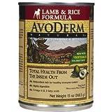 AvoDerm Natural Dog Food – Lamb and Rice – 12×13 oz, My Pet Supplies
