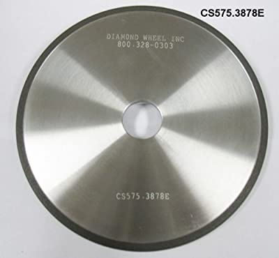 Super Abrasive CBN 5-3/4 Chainsaw Wheels for 3/8 and .404 Pitch Chains, Model: CS575.3878E, Home/Garden & Outdoor Store