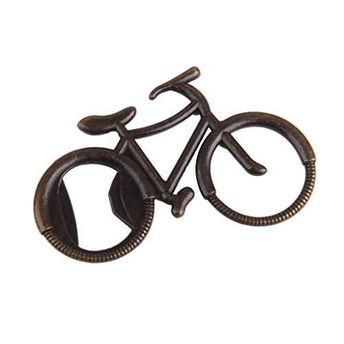 Bicycle Bike Bottle Opener Wedding Favor Fun Party Favors Bronze Color
