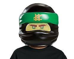 Lloyd Lego Ninjago Movie Mask, One Size