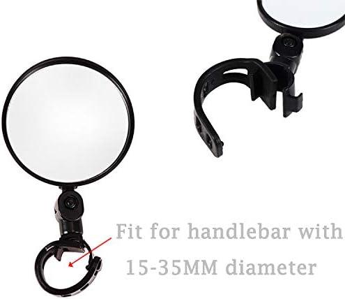 Used For Mountain Bike Handshaking LAOZI Bicycle Mirrors Adjustable Bicycle Mirrors