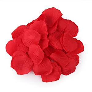 HDE 1000pcs Rose Petals Odorless Flower Petal Decorations for Weddings and Special Occasions 37