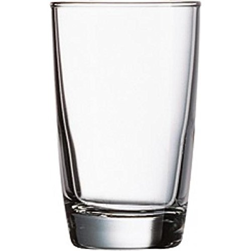 Cardinal Hi Ball Glass, 6 Oz., Fully Tempered, Arcoroc, Excalibur (Fully Tempered Arcoroc Glass)