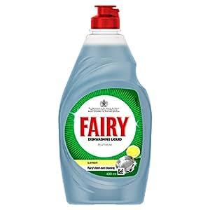 Fairy Platinum Lemon Dishwashing Liquid 400ml