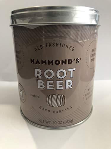 Hammond's Candies All Natural Root Beer Drops (Best Gourmet Root Beer)