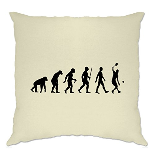 Tim And Ted Sports Cushion Cover Evolution Of A Tennis Player Natural One Size