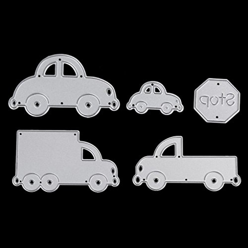 Die Cuts,Car Family Metal Cutting Dies Stencils DIY Scrapbooking Photo Album Paper Card Gift LDM-542