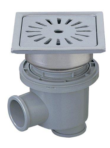 SANEI 【浴室用排水ユニット】 一辺148mm 縦横排水兼用タイプ H904-150 B005080MIM   150