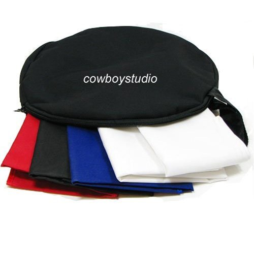 CowboyStudio Top Open 30 Inch Photo Soft Box Light Tent - 4 Chroma Key Backdrops by CowboyStudio