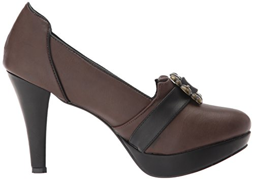 de Tacones marian Shoes para Plataforma Mujer Marrón 414 Ellie zqIaxwSx