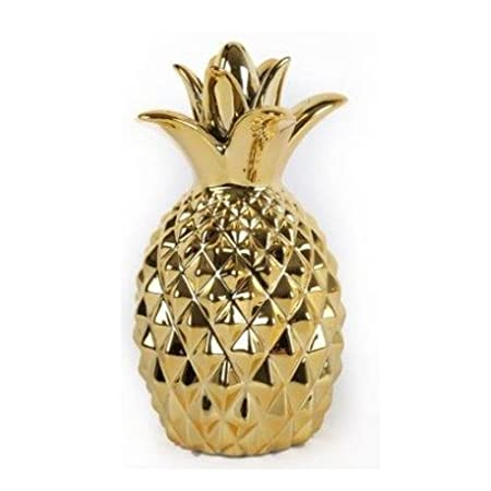 Pineapple Ornament Fruit Modern Gold Decorative Item Home Decor