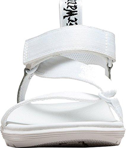Dr. Martens BALFOUR Webbing BLACK - Sandalias de vestir de lona para mujer White Webbing/T Lamper
