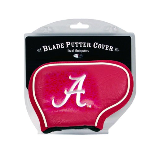 Team Golf NCAA Alabama Crimson Tide Golf Club Blade Putter Headcover, Fits Most Blade Putters, Scotty Cameron, Taylormade, Odyssey, Titleist, Ping, -