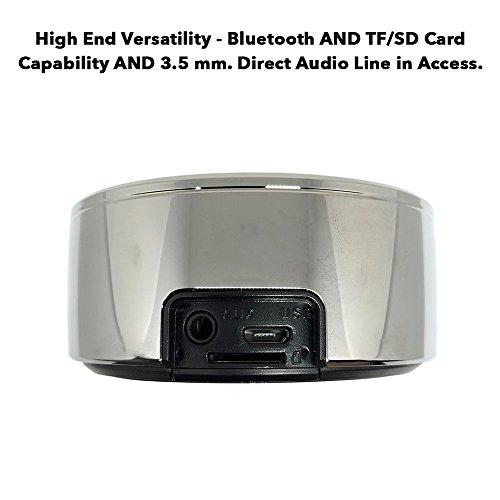 True Wireless Speakers: Twin Portable TWS Bluetooth Mini Stereo Speaker Dual Set Big Bass for Apple iPhone iOS Google Android Samsung Galaxy Nexus Smart Phones Laptops MAC PC Tablets Smartphones Echo by Long Run Technologies (Image #3)