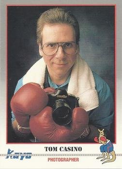 Tom Casino Trading Card (Boxing) 1991 Kayo #249 TCP Photographer from Autograph Warehouse
