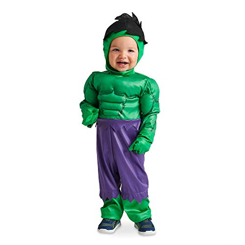 Marvel Hulk Costume for Baby, Green, 18-24 MO -