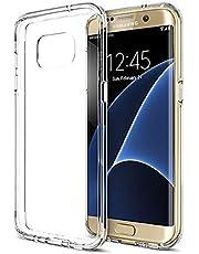 Zore 3405 Galaxy S7 Plus ile Uyumlu Kılıf, Ultra İnce Silikon Kapak, 0.2 mm, Renksiz