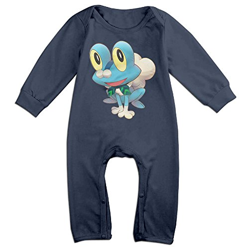 Froakie Baby Fashion Jumpsuit Romper Climbing Clothes Navy