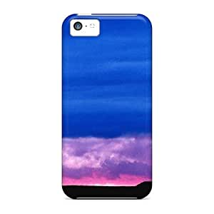 USMONON Phone cases Case Cover Protector For Iphone Iphone 5c Farm At Dusk Case