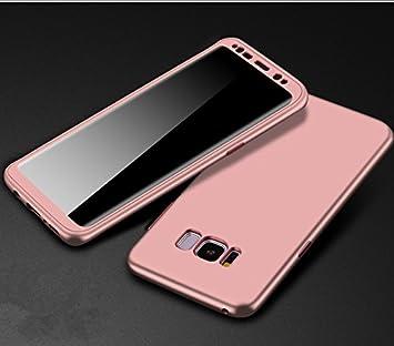 Galaxy S8 ケース 可愛い 全面保護 360度フルカバー Samsung ギャラクシー S8 カバー 擦り傷防止