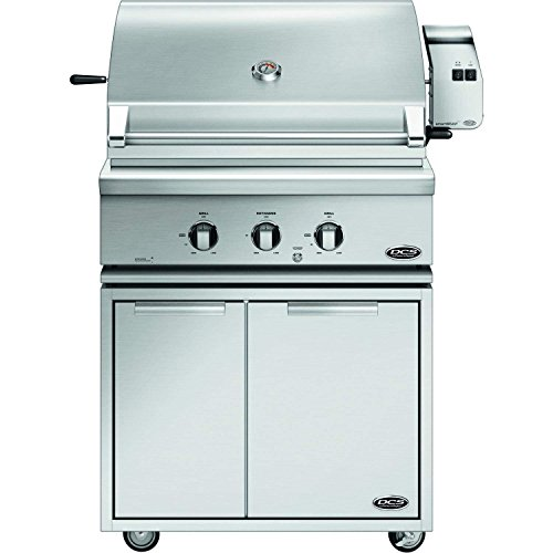 (DCS Traditional Grill On CAD Cart with Rotisserie (71303) (BH1-30R-N-CAD1-30), 30-Inch, Natural Gas)