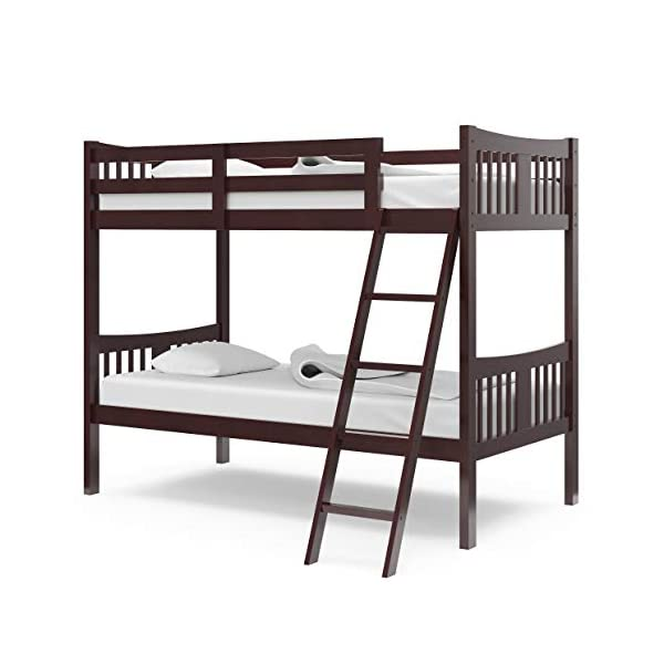 Storkcraft Caribou Solid Hardwood Twin Bunk Bed 2