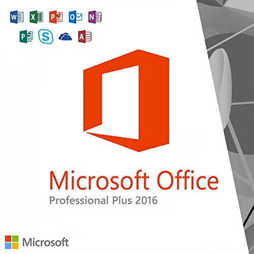 Microsoft Corporation Microsoft Office 2016 Professional - License - 1 Pc - Pc - Download