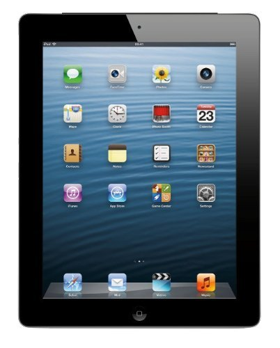 Apple iPad 3 Retina Display Tablet 16GB - Wi-Fi - Black (Renewed)