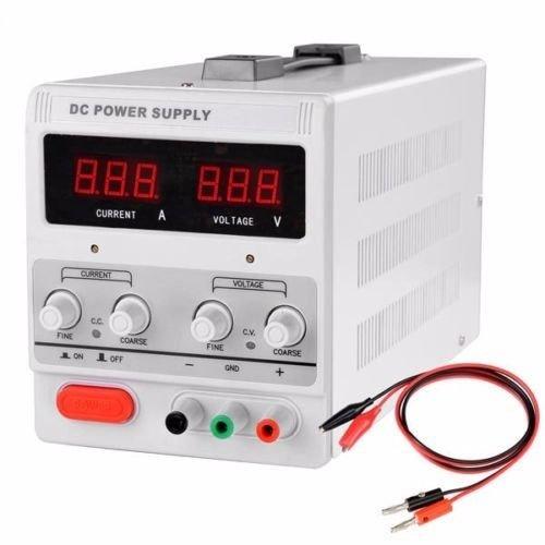 PROSPERLY U.S.Product 30V 5A 110V Precision Variable DC Power Supply w Clip Cable Digital - Common Sizes Frame Australia