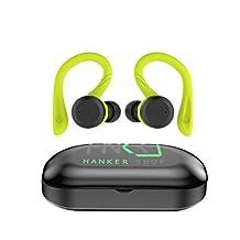 Hanker Hook, Audífonos Bluetooth, Verde Micrommata