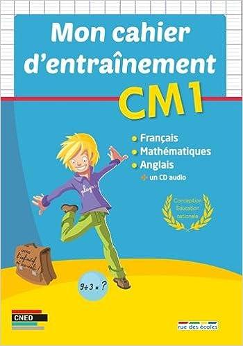 Lire Mon cahier d'entraînement CM1 pdf, epub