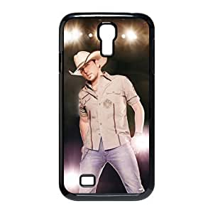 EVA Jason Aldean Samsung Galaxy S4 I9500 Case,Snap-On Protector Hard Cover for Galaxy S4