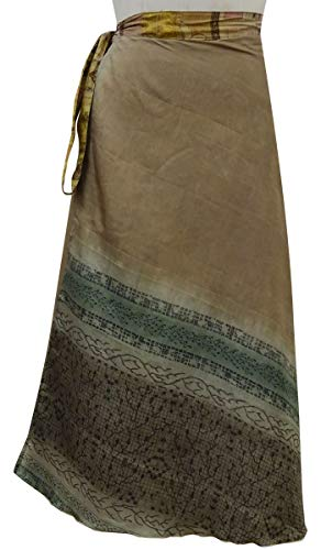 Pure Vert Light Wrap Olive Les Imprimer Indianbeautifulart Summer Soie Saree Dress Rouge Beach Brown amp; Femmes Vintage rversible Lumire Check xIZwUpq